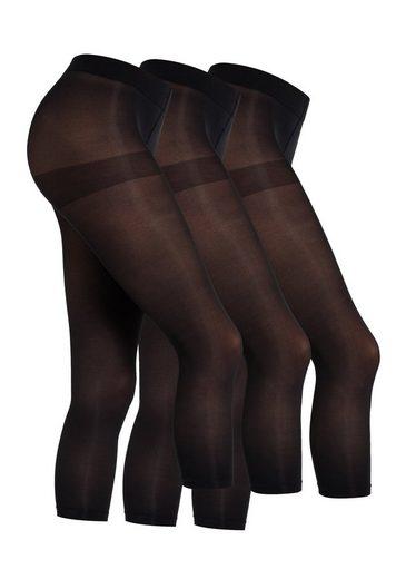 Camano Leggings (3-tlg) im praktischen 3er-Pack