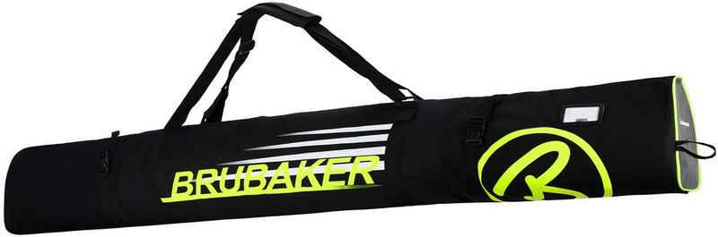 BRUBAKER Sporttasche »Carver Champion Skitasche Schwarz« (1-tlg., reißfest und schnittfest), gepolsterter Skisack mit Zipperverschluss