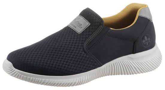 Rieker Slip-On Sneaker mit sportiver Laufsohle