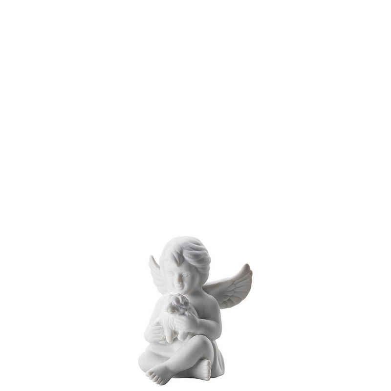 Rosenthal Engelfigur »Engel klein Weiß matt Engel mit Hund 8 cm« (1 Stück)