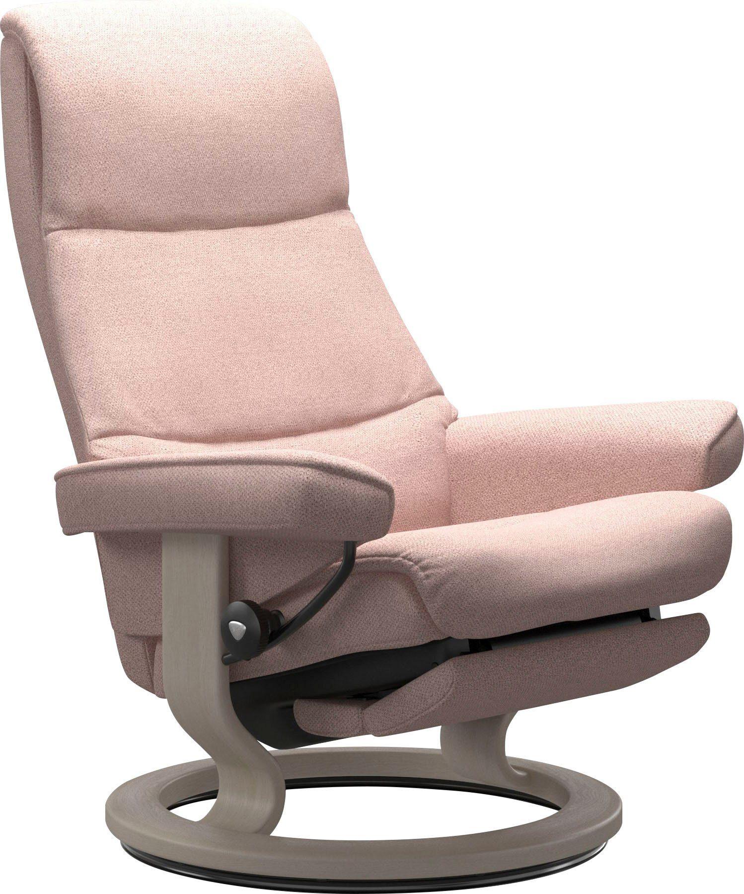 Stressless® Relaxsessel »View«, mit Classic Base und Power™, elektrisch verstellbar, optional 2 motorisch, Größe M & L, Gestell Whitewash online
