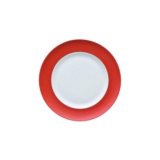 Thomas Porzellan Brotteller »Sunny Day New Red Brotteller 18 cm«, (1 Stück)
