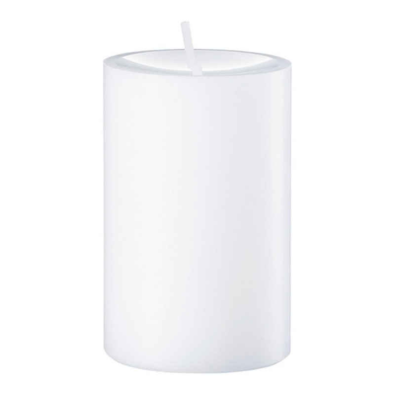 Engels Kerzen Stumpenkerze »Gegossen Weiß H 12 cm«