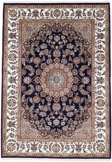 Orientteppich »Orientteppich Nain«, Woven Arts, rechteckig, Höhe 15 mm, handgeknüpft, Wohnzimmer, reine Wolle
