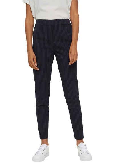 Esprit Anzughose mit elastischem Rückenbund