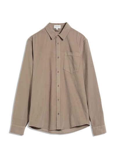 Armedangels Langarmhemd »FLAAN BAABY CORD Herren Hemd aus Bio-Baumwolle« (1-tlg)