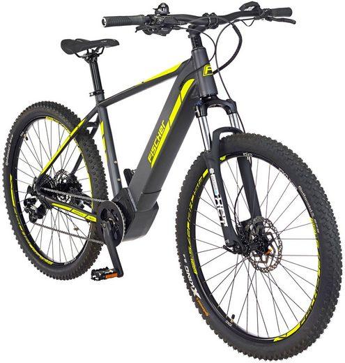 FISCHER FAHRRAEDER E-Bike Mountainbike »MONTIS 5.0i«, 27,5 Zoll, 10 Gang, Mittelmotor, 418 Wh