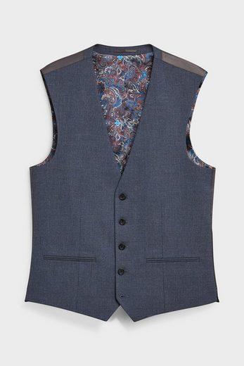 Next Anzugweste »Strukturierter Anzug: Weste« (1-tlg)