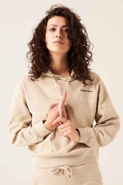 Garcia Sweater »GS100860« mit Textprint auf dem Rücken