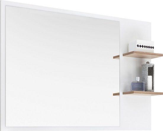 PELIPAL Spiegel »Noventa«, Breite 100 cm, 2 Ablageflächen