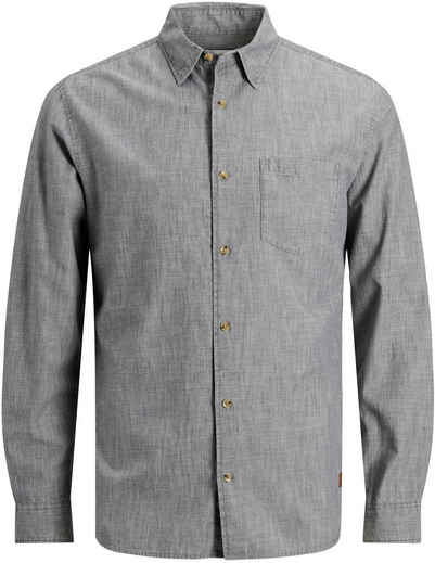 Jack & Jones Langarmhemd »KENDRICK CHAMBRAY SHIRT«