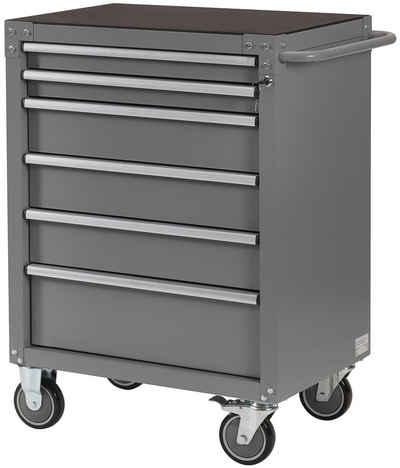 Profiwerk Werkstattwagen »Wisconsin I«, max. Traglast:120 kg, 6 Schubladen, abschließbar, zur Selbstmontage