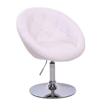 SVITA Chesterfield-Sessel »HAVANNA«, Retro-Design, aus pflegeleichtem Kunstleder, kippsicherer Tellerfuß, Bezug des Sessels ist kapitoniert, stufenlos höhenverstellbar