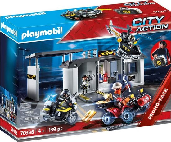 Playmobil® Spielwelt »PLAYMOBIL® 70338 - City Action - Große Mitnehm SEK Zentrale«