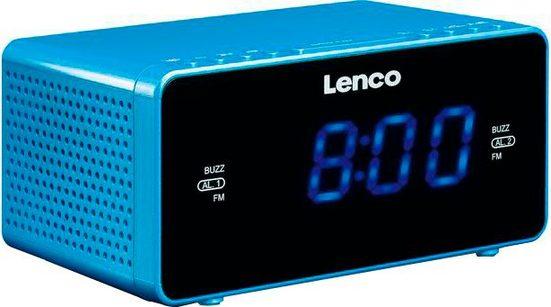 Lenco »CR-520« Uhrenradio (FM-Tuner)