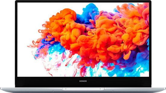 Honor MagicBook 14 Notebook (35,56 cm/14 Zoll, AMD Ryzen 5, 256 GB SSD, Fingerabdrucksensor)