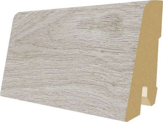 EGGER Sockelleiste »L498 - Vinstra Eiche weiss«, L: 240 cm, H: 6 cm