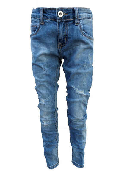 Family Trends Bequeme Jeans im Destroyed-Look