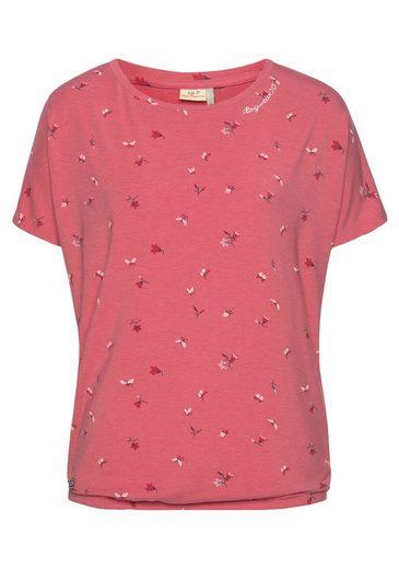 Ragwear Shirttop »PECORDI« mit Butterfly Allover-Print