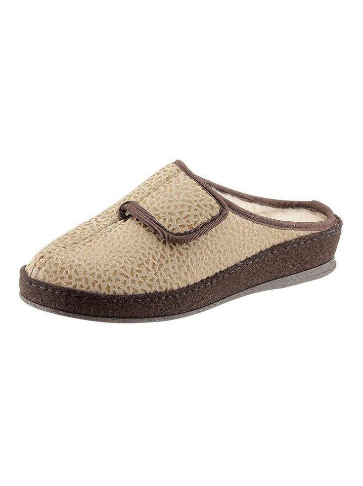 Hausschuhe - SCHAWOS Pantoffel › braun  - Onlineshop OTTO