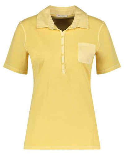 Marc O'Polo Blusenshirt »Damen Poloshirt Kurzarm«