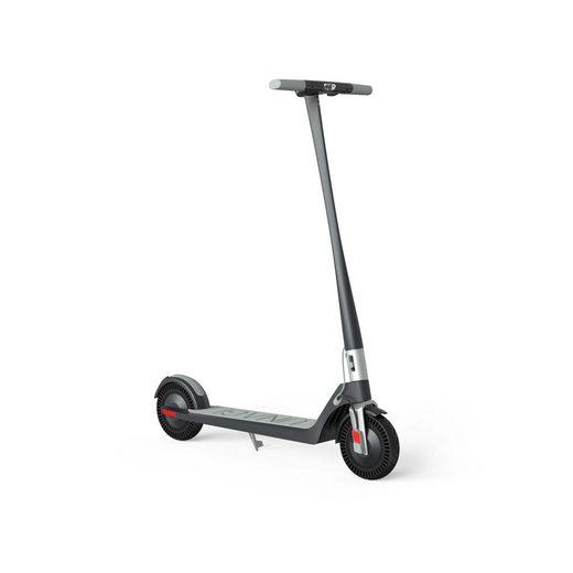 UNAGI E-Scooter »Model One E500«, 500 W, 25,00 km/h, faltet und verriegelt sich mit nur einem Klick; regelt Höchstgeschwindigkeit und Beschleunigung und merkt sich die Geschwindigkeitsvorlieben; mit integrierten Ständer, der sich nahtlos in das Deck integriert