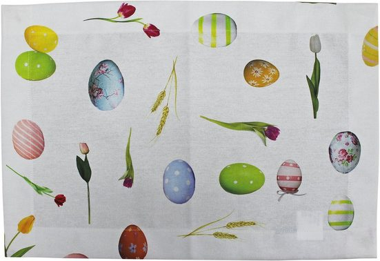 HOSSNER - HOMECOLLECTION Platzset »32668 Pasqua« (Set 4-tlg)