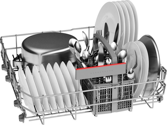 Küchengroßgeräte - BOSCH vollintegrierbarer Geschirrspüler Serie 4, SBV4HTX31E, 12 Maßgedecke  - Onlineshop OTTO