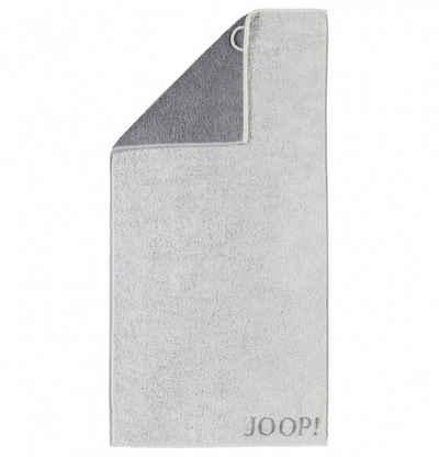 Joop! Handtuch »Elegance Doubleface 1620 77« (1-St), Wendeoptik, Flauschig, Weich