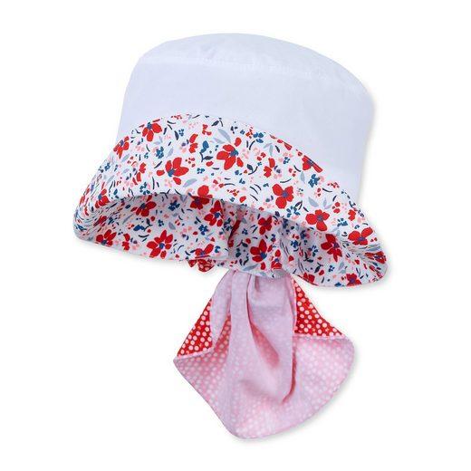 Sterntaler® Schirmmütze Hut mit Nackenschutz