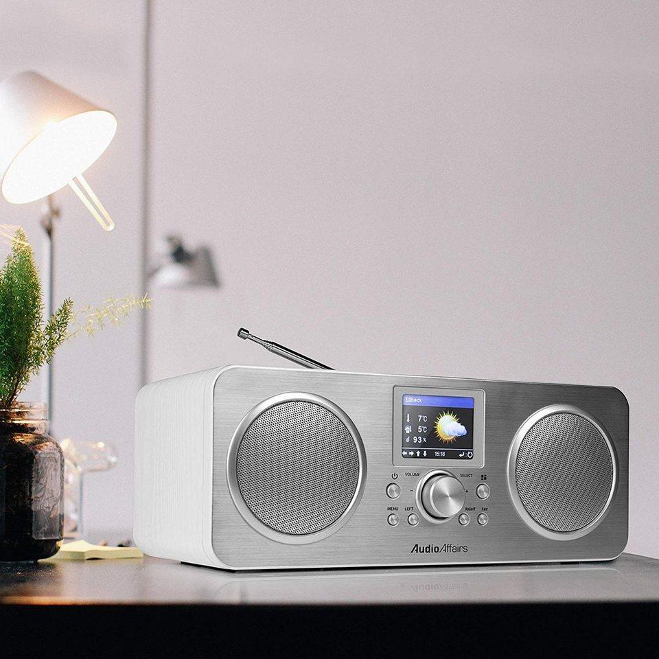 AudioAffairs »Internet Radio« Digitalradio (DAB) (Digitalradio (DAB),  Stereo Wlan Internet-Radio, DAB Radio, Küchen-Uhrenradio) online kaufen   OTTO