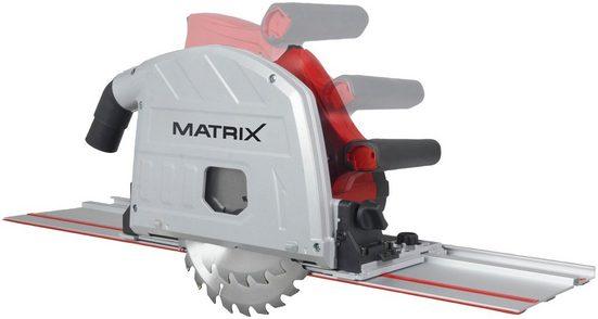 MATRIX Tauchsäge »TRS 1400-64«, Set, 1400 W, Maße (B/H/L) 71,5x27,7x32,5 cm