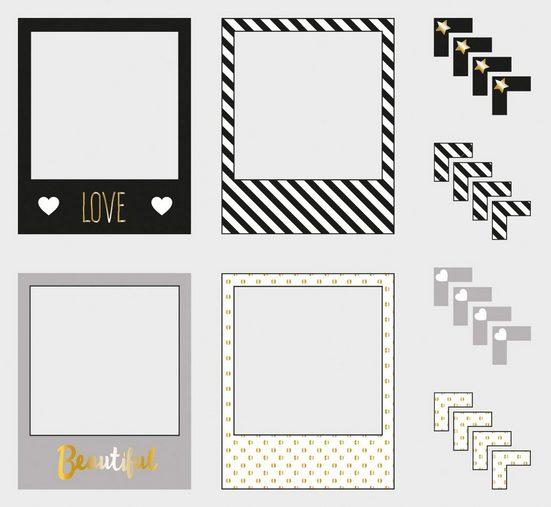 Rayher Sticker »Fotorahmen/Fotoecken my PLANNER«, 24 Stück