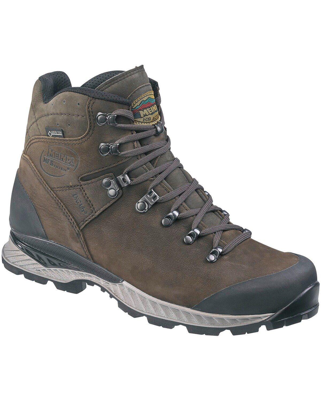 KAMIK GORE-TEX Hiker Trekkingschuh FLOW mid GTX black Gr 42 Herren