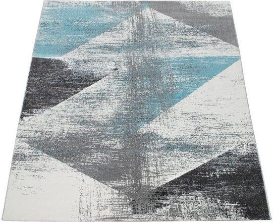 Teppich »Mero 102«, Paco Home, rechteckig, Höhe 12 mm, Kurzflor, Pastell-Farben, Vintage Design, Wohnzimmer