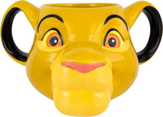 Paladone Dekobecher »Disney Simba 3D Becher«