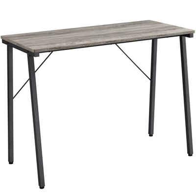 Yaheetech Computertisch, Schreibtisch Bürotisch Arbeitstisch PC Tisch Homeoffice 100 x 50 x 75 cm