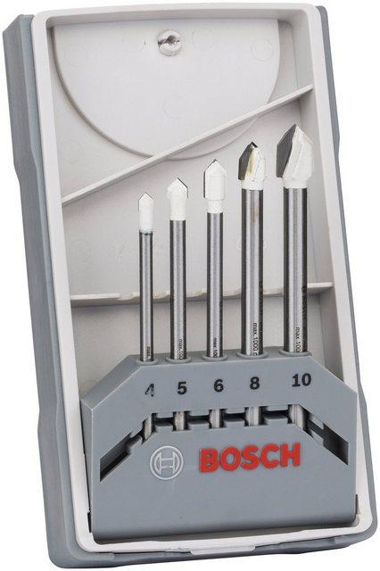 Bosch Fliesenbohrer-Set CYL-9 Ceramic, 5-teilig, 4 - 10 mm