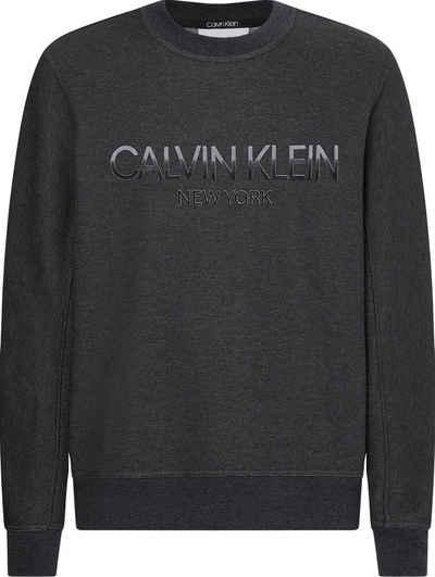 Calvin Klein Sweatshirt »TONE ON TONE LOGO SWEATSHIRT«