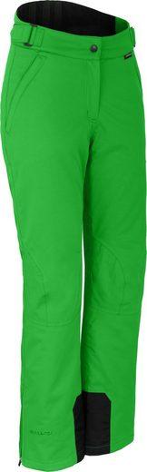 Bergson Skihose »LUCKY« wattierte Damen Skihose mit 5.000er Wassersäule, Kurzgrößen, grün