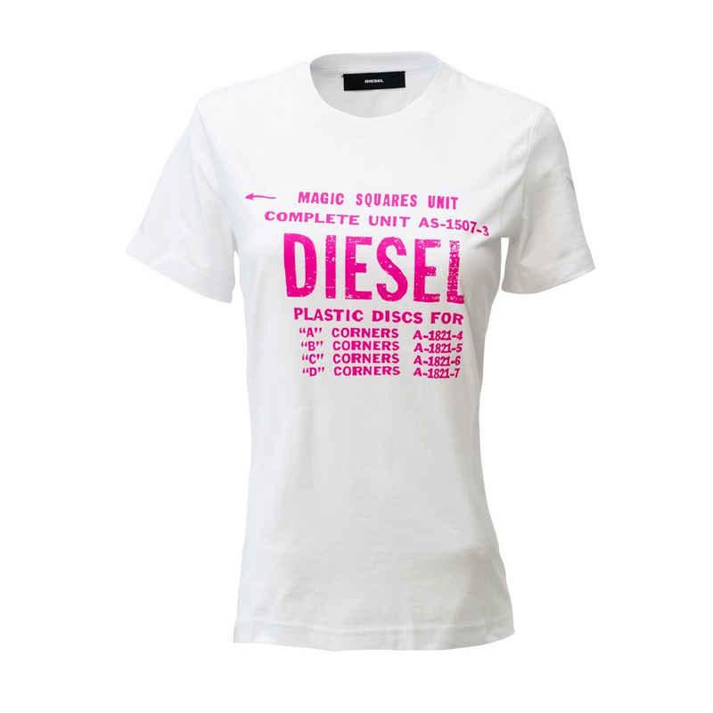 Diesel T-Shirt »00SYVT-0091A-100« Magic Squares Unit
