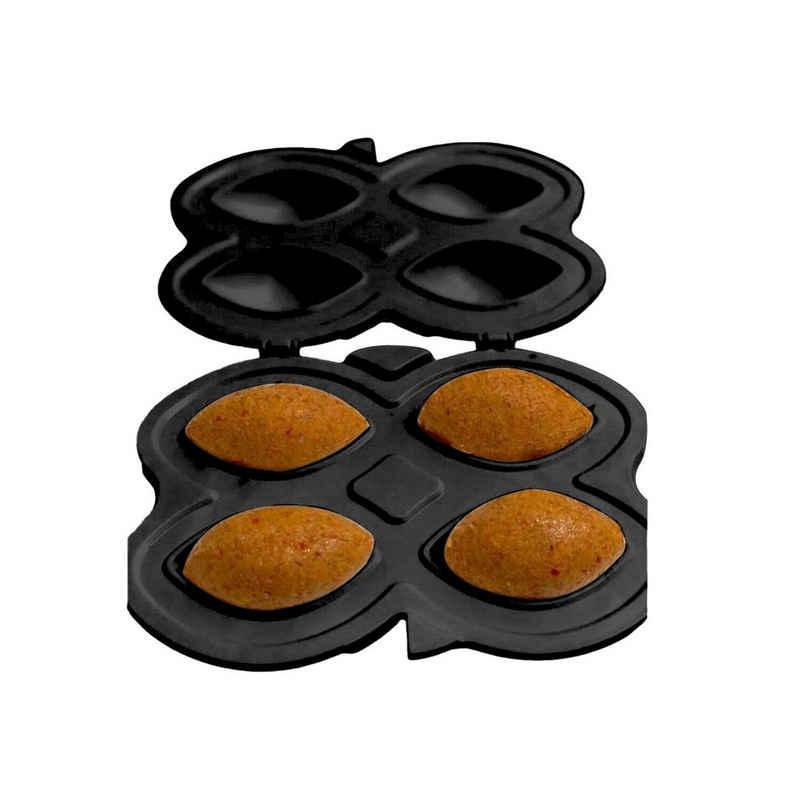 cofi1453 Ravioliform »Hüma Içli Köfte Aparati 3-Teilig Kibbeh Maker gefüllte Frikadelle Form Teigform schwarz«