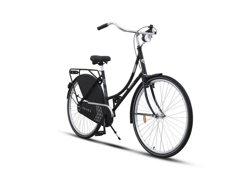 Toys Store Cityrad »28 Zoll Aluminium Holland Fahrrad Daily Dutch Nostagie«, 1 Gang, Keine Schaltung