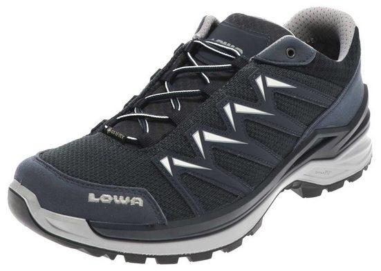 Lowa »Lowa Herren Wanderschuhe Innox Pro GTX Lo wasserdichter Nordic Walking Schuhe Blau« Outdoorschuh