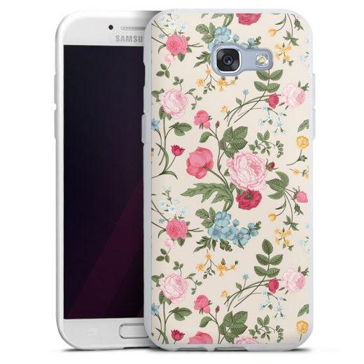 DeinDesign Handyhülle »Vintage Beauty« Samsung Galaxy A3 (2017), Hülle Vintage Ornamente Blume