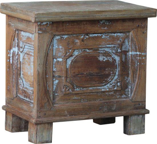 Guru-Shop Couchtisch »Vintage Holzbox,Holztruhe, Couchtisch,..«