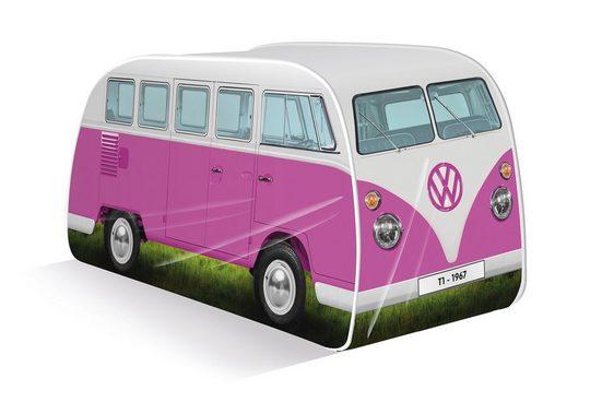 VW Collection by BRISA Spielzelt »Volkswagen Pop Up Zelt« (Komplettset mit klarer Anleitung, 1) Safarifenster, als auch Türen an der Seite & Rückseite