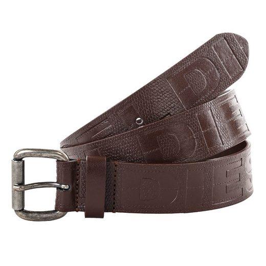 Diesel Ledergürtel »Herren Gürtel - Belts B-Cerro, Echtleder,«