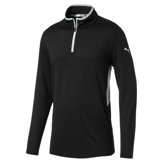 PUMA Stehkragenpullover »Rotation 1/4 Zip Herren Golf Pullover«