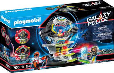 Playmobil® Konstruktions-Spielset »Tresor mit Geheimcode (70022), Galaxy Police«, (55 St), Made in Europe